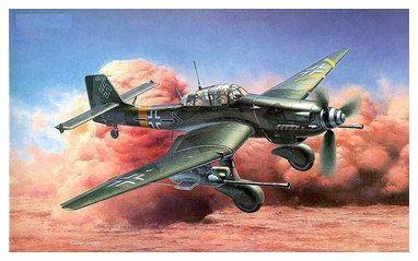 斯图卡Ju87俯冲轰炸机