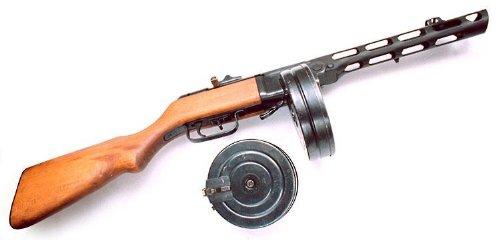 波波沙PPSh41冲锋枪